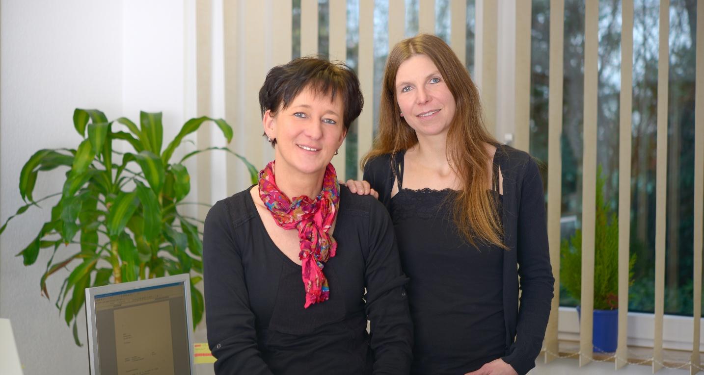 Vera Köbke und Andrea Geldmacher